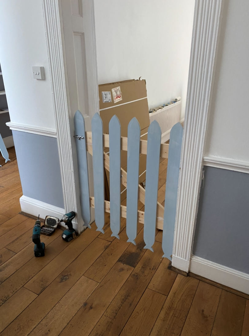 little minnows nursery, bespoke stairgates, safe and secure, coming to life